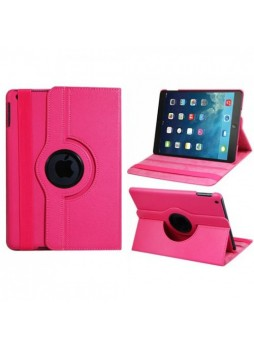 360 Degree Rotary Flip Case for iPad Mini 3 - Hot Pink