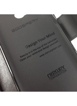 Mercury Goospery Sonata Wallet Case for HTC One M8 - Black