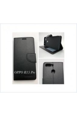 Wallet Case For oppo  R15 Pro BLK