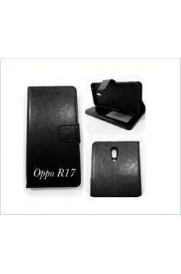 Wallet Case For oppo  R17 BLK