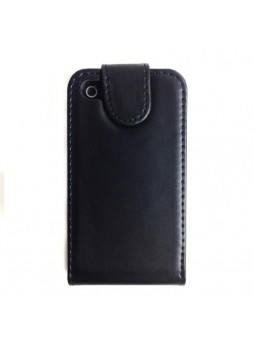 Synthetic PU Leather Flip Case Cover with Wallet Card Holders for iPhone 4S / 4