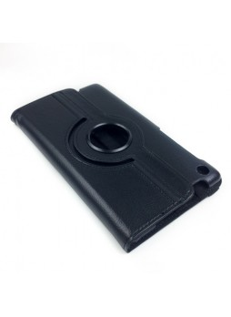 360 Degree Rotary Case Cover for Google Nexus 7 II 2013 - Black
