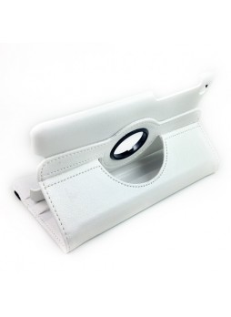 360 Degree Rotary Case Cover for Google Nexus 7 II 2013 - White