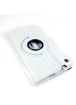 360 Degree Rotary Case Cover for Google Nexus 7 II 2013 - White