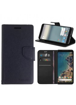 Mooncase Stand Wallet Case For Telstra Google Pixel 2 - Black