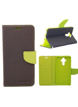Mooncase Stand Wallet Case For Huawei Mate 9 Navy