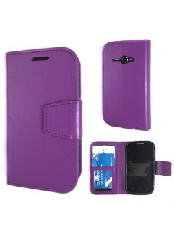 Telstra Evolution T80 Stand Wallet Case - Purple