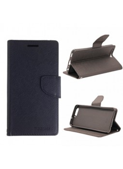 Mooncase Stand Wallet Case For Huawei P10 Plus Black