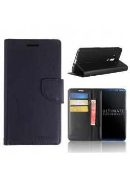 Mooncase Stand Wallet Case For Huawei Mate 10 Pro - Black