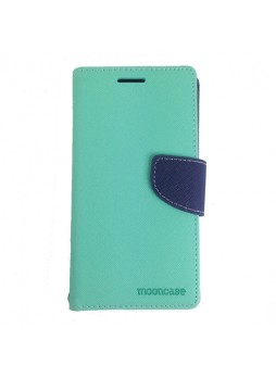 Universal Fancy Diary Stand Wallet Case Size 6 - Mint