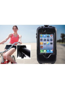 PeriPower Waterproof bag Case with bicycle Mount for iPhone 4 4S