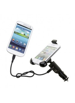 Universal Car Holder Mount with USB Charger for Smartphones