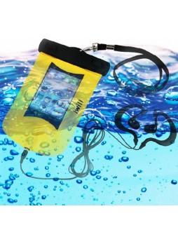 100% Waterproof Armband Bag Case + Earphone For Smartphones