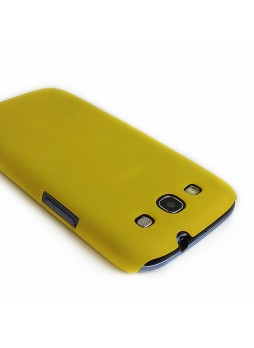 Back Case for Samsung Galaxy S3 i9300 - Yellow