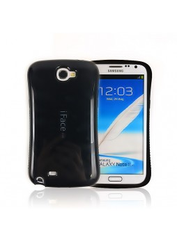 iFace Soap Shape Anti-Shock Case for Samsung Galaxy Note2 N7100 - Black