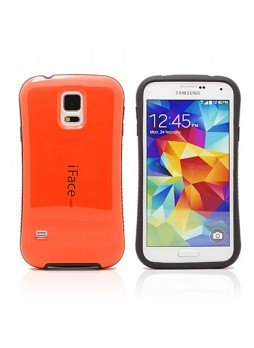 iFace Anti-Shock Rubber Case for Samsung Galaxy S5 - Orange