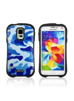 iFace Camouflage Anti-Shock Case Cover for Samsung Galaxy S5 - 03