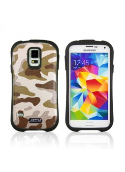 iFace Camouflage Anti-Shock Case Cover for Samsung Galaxy S5 - 04