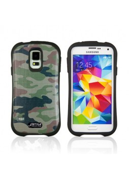 iFace Camouflage Anti-Shock Case Cover for Samsung Galaxy S5 - 11