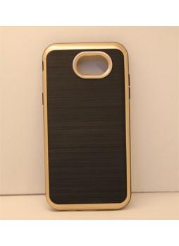Rugged Shockproof Tough Back Case For Samsung Galaxy J3 Prime - Gold