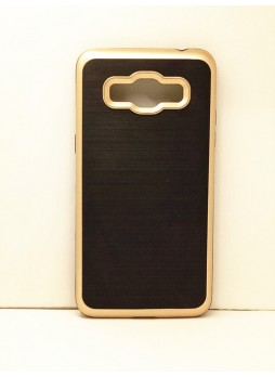 Rugged Shockproof Tough Case Cover For Samsung Galaxy J2 Prime - Gold