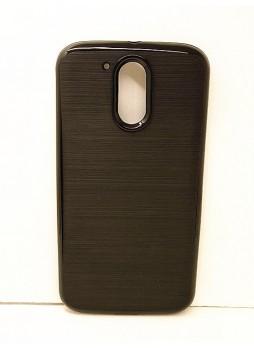 Rugged Shockproof Tough Case Cover For Motorola Moto G4/G4 Plus - Black