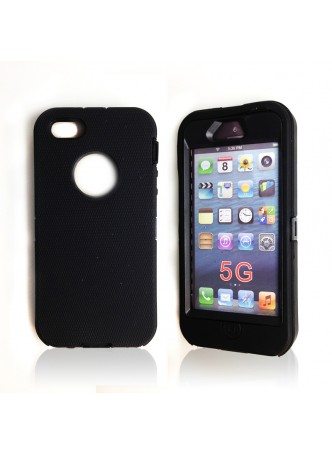 Heavy Duty Tradesman Case for iPhone 5 / 5S - Black