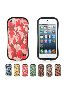 Art iFace Military Shockproof Case for iPhone 5 / 5S - 7 Color