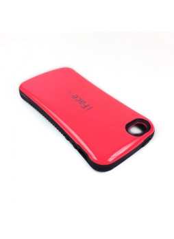 iFace First Class Anti-Shock Rubber Case Cover for iPhone 5C - Hot Pink