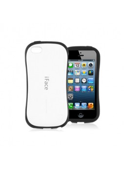 iFace First Class Anti-Shock Rubber Case Cover for iPhone 5C - White