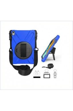 3 in1 Defender heavy Duty Case For New Ipad 9.7'' (2018) Blue