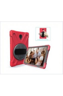 3 in1 Defender heavy Duty Case For  Samsung TAB A 10.5  T590 RED