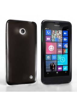 TPU Gel Case Cover for Nokia Lumia 630 - Black