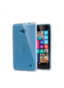Microsoft Lumia 640 TPU Gel Case Cover - Clear