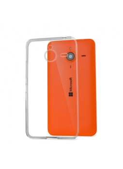 Microsoft Lumia 640XL TPU Gel Case Cover - Clear