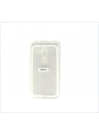 Ultra Jelly Case For  Nokia 8.1 -Clear Clear