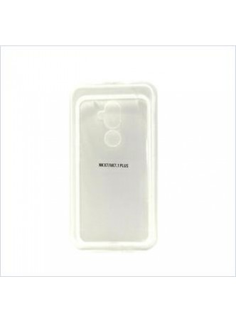 Ultra Jelly Case For  Nokia 7.1 Plus -Clear Clear
