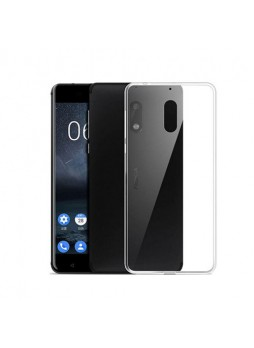 TPU Gel Case Cover For Nokia 6 - Ultra Clear