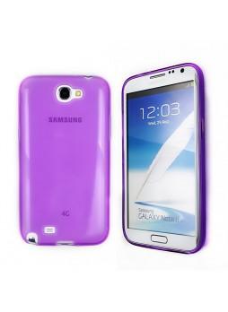 TPU Gel Case for Samsung Galaxy Note2 - Purple
