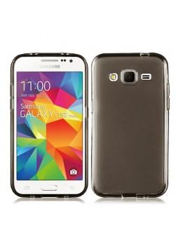 TPU Gel Case Cover for Samsung Galaxy Core Prime - Dark Grey