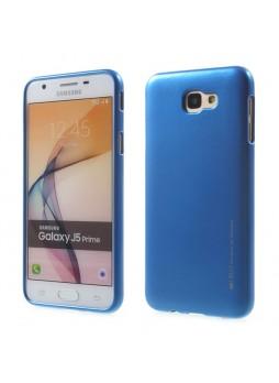 Mercury Goospery iJelly Gel Case For Samsung Galaxy J5 Prime - Blue