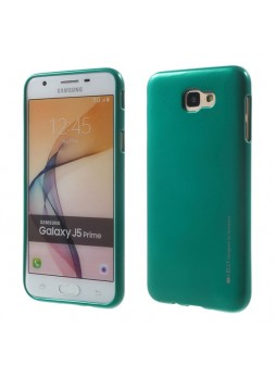 Mercury Goospery iJelly Gel Case For Samsung Galaxy J5 Prime - Green
