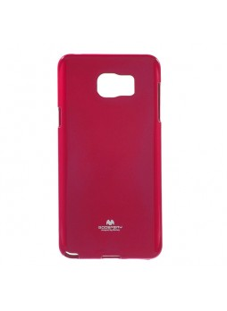 Korean Mercury TPU Gel Case Cover for Samsung Galaxy Note 5 Hot Pink