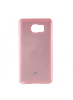 Korean Mercury TPU Gel Case Cover for Samsung Galaxy Note 5 Light Pink