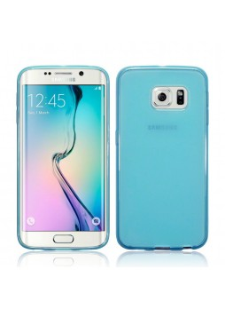 TPU Gel Case for Samsung Galaxy S6 Edge Plus Blue