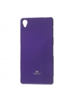 Korean Mercury TPU Case Cover for Sony Xperia Z5 Compact Purple
