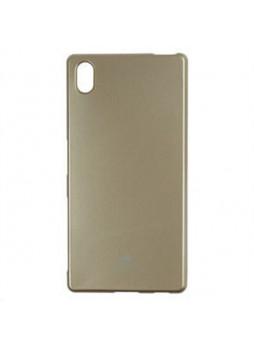 Korean Mercury Color Pearl Jelly Case for Sony Xperia Z5 Premium Gold