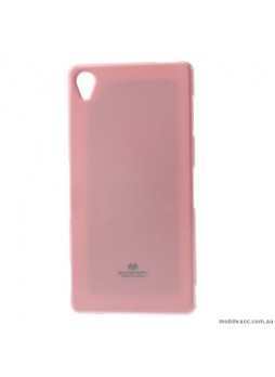 Korean Mercury Color Pearl Jelly Case for Sony Xperia Z5 Premium Light Pink