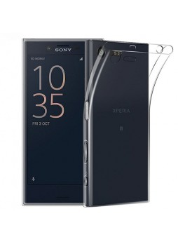 Soft TPU Back Case For Sony Xperia XZ Premium - Clear