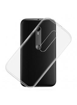 TPU Gel Back Case for Motorola Moto G3 Black